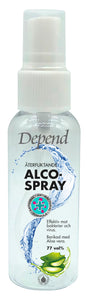 Alcogel Spray 1159 77 vol% 50 ml