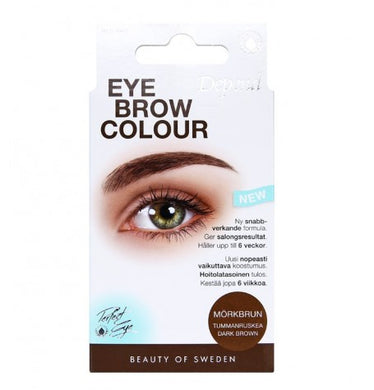 Eyebrow Colour - Mørk Brun