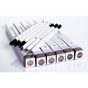 Eyebrow Pencil Slim & Thin - Medium Brown