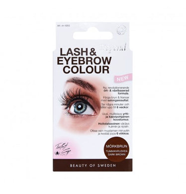 Lash & Eyebrow Colour - Mørk Brun