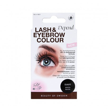Lash & Eyebrow Colour - Svart