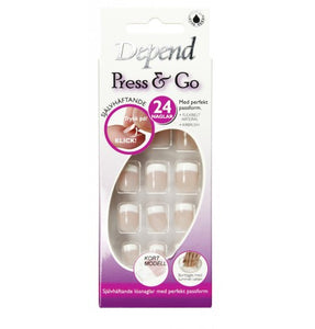 Press & GO soft rosa kort