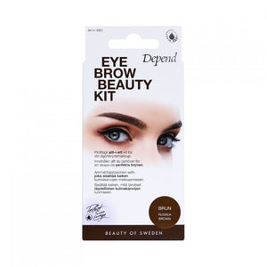 Eyebrow Beauty Kit - Brun