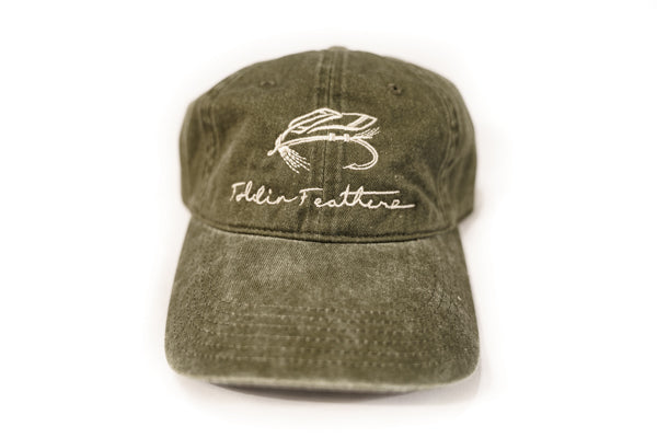 Olive On The Fly Dad Hat