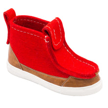 Load image into Gallery viewer, Red/Brown Sneaker Boot