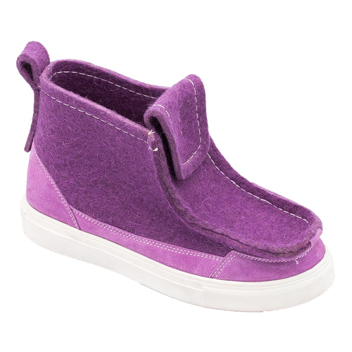 Purple Sneaker Boot