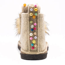 Load image into Gallery viewer, Decorated Classic Boot with Pom-Pom