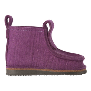 Purple Classic Boot with Treaded Sole