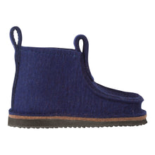 Load image into Gallery viewer, Navy Blue Classic Boot with Treaded Sole