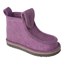 Load image into Gallery viewer, Lavender Classic Boot with Treaded Sole