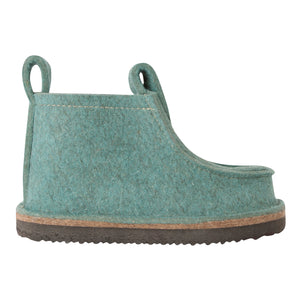 Mint Classic Boot with Treaded Sole