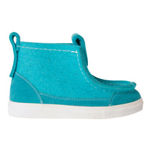 Load image into Gallery viewer, Teal Sneaker Boot