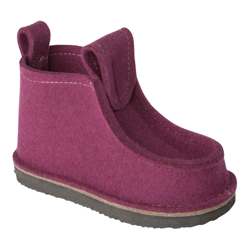 Eggplant Classic Boot with Treaded Sole