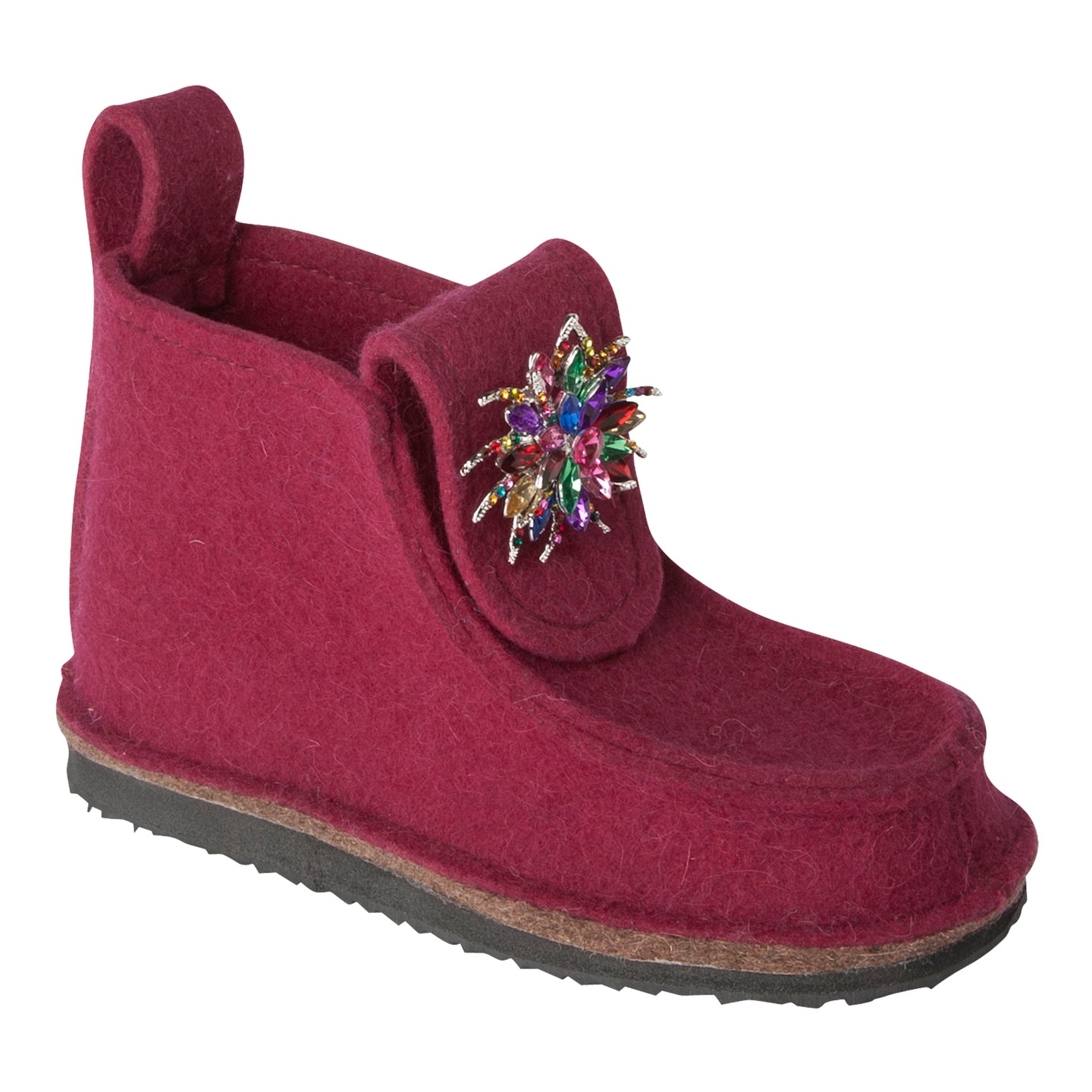 Embellished Flower Boot