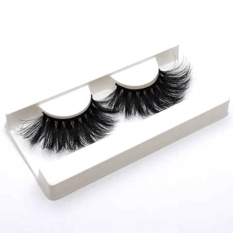 BLELON1-44 5D Mink Eyelashes Long Styles 25MM