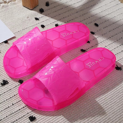 BLJS10 Jelly Slides Slippers Candy Color