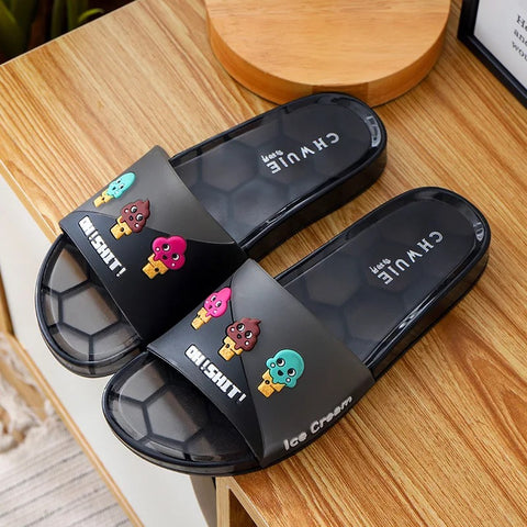 BLJS Jelly Slides Slippers Candy Color luyijia