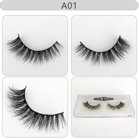 BLEA1-20 3D Fashion Mink Eyelashes Stages Eyelash