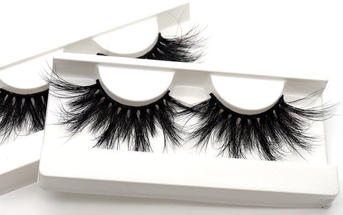 BLJMK1-9 Longer 27mm 3D Mink Eyelashes
