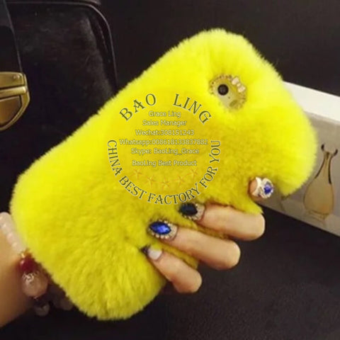 BLPC01 Fur Phone Case