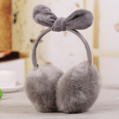 BLFFEM01 Faux Fur Winter Cartoon Earmuff Warm Headband