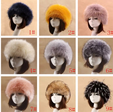 BLFFH Hot Sale Best Quality Faux Fur Headband