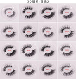LashesL04 mink lashes eyelashes 25mm colorful without packaging