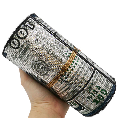 BagC04 Clutch bag Party Bags Crystal bags Money Bags