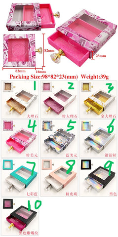 PackageL15 eyelash  Lashes packages boxes