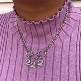 Necklace28 Fashion Necklace Neckchain BY0095