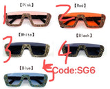 SG6 Fashion Design Sunglasses Sunnies Shades XH