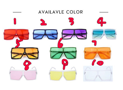 BLS26 Fahion Candy Colorful Sunglasses 2740