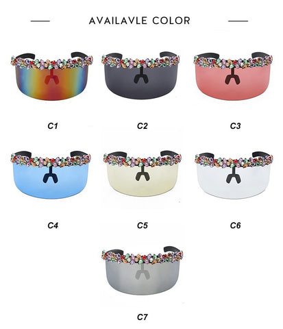 102942 Sunglasses Sunnies Shades Visor 4143