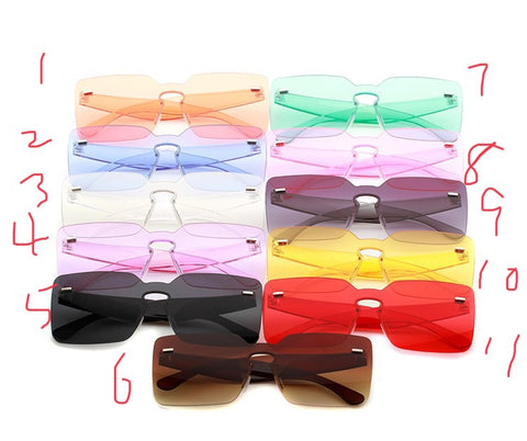 BLS1811 Fahion Candy Colorful Sunglasses