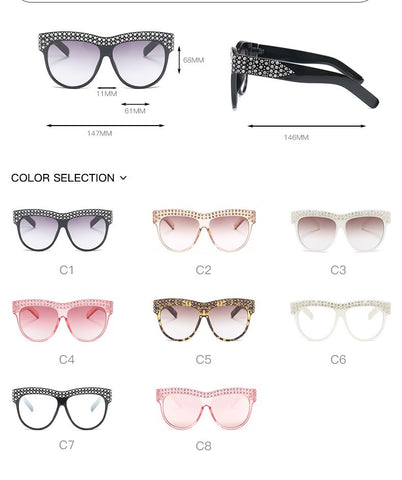 BLS5701 Crystal New Design Suglasses Sunnies Shades