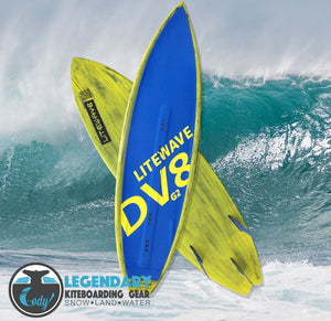 DV8 Freestyle Surfboard - Cody Kiteboarding