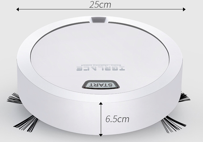 Intelligent Round Automatic Sweeping Robot