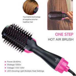 Multifunctional hot air comb anion hair comb