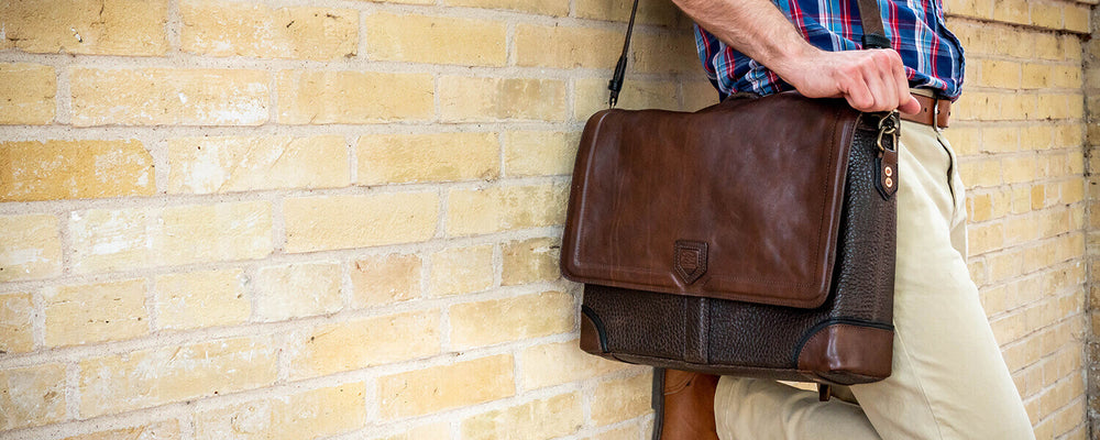 Leather Backpacks, Briefcases & Messengers