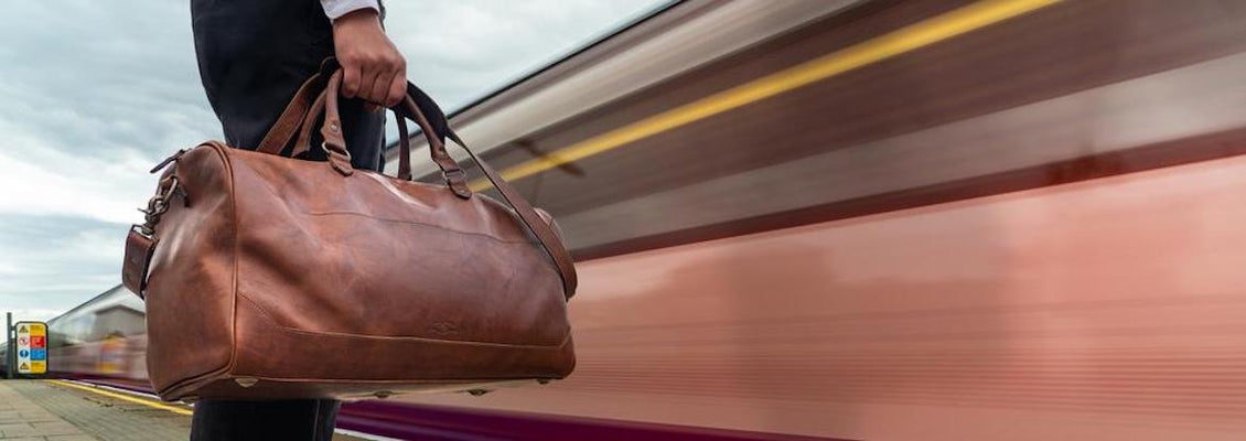 Leather & Waxed Canvas Travel Goods & Luggage