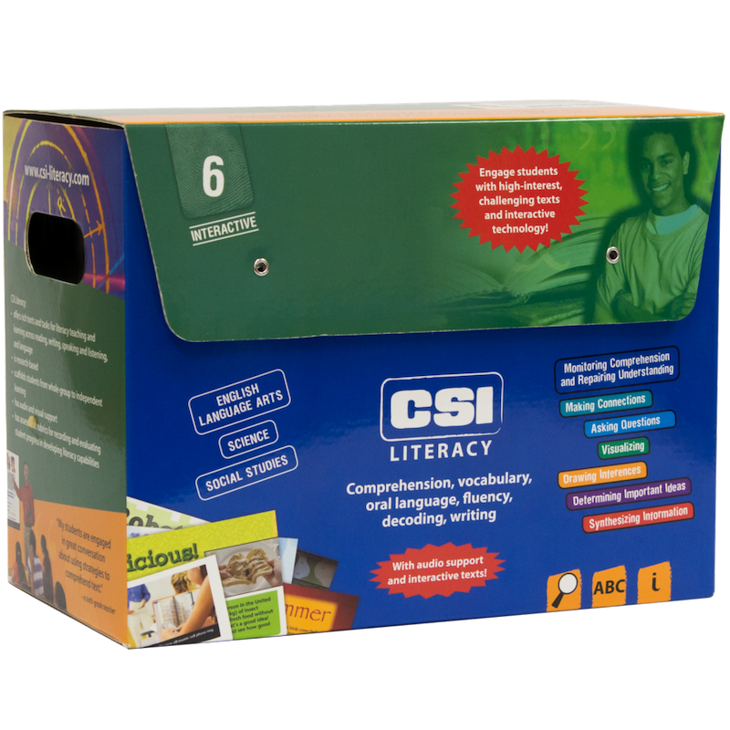 CSI Literacy Kit: Green (Grade 6)