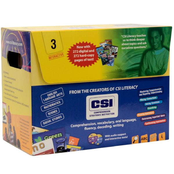 CSI Literacy Kit: Yellow (Grade 3)