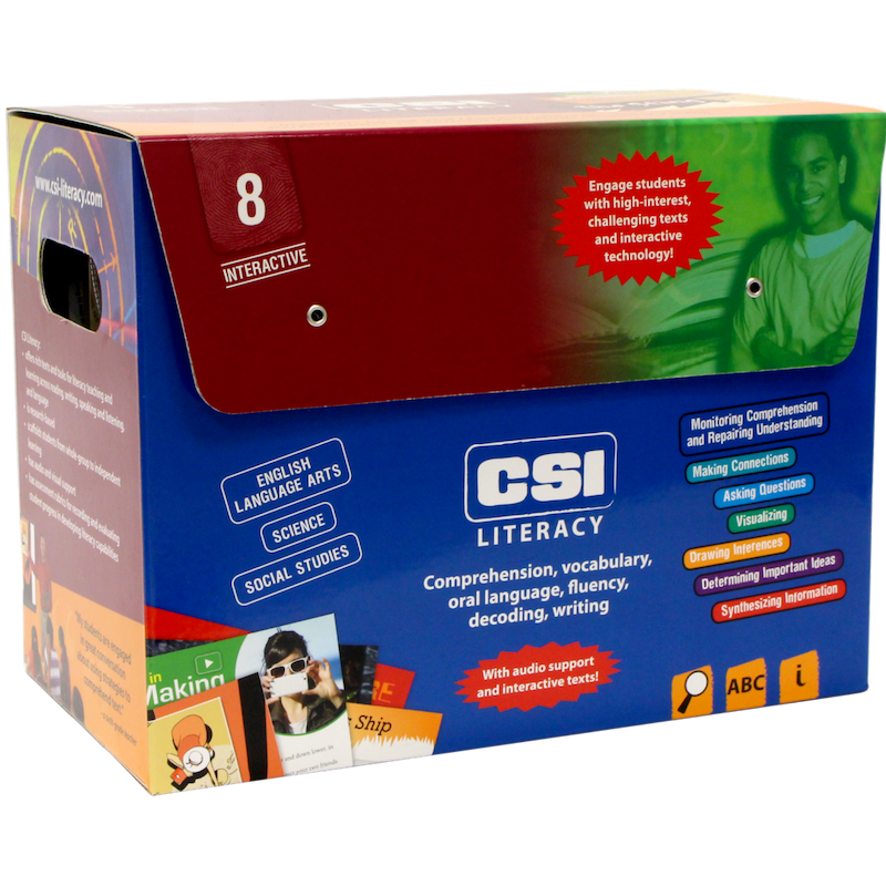 CSI Literacy Kit: Red (Grade 8)