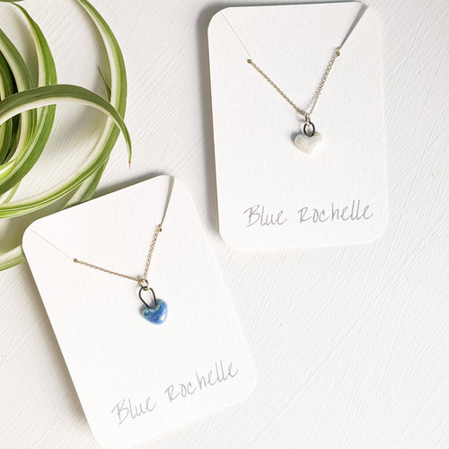 Heart Necklace by Blue Rochelle