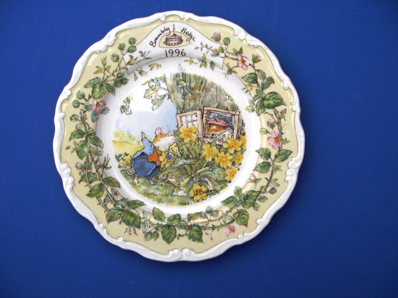 Royal Doulton Brambly Hedge 1996 Year Plate