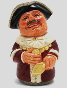 Royal Doulton Doultonville Toby Jug - Alderman Mace The Mayor D6766