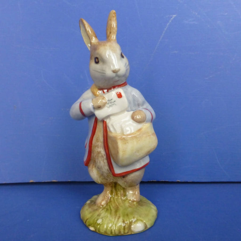Beswick Beatrix Potter Figurine Peter Rabbit With Postbag