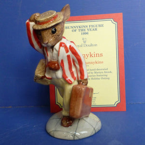 Royal Doulton Bunnykins of the Year 1996 - Father DB154 (Boxed)