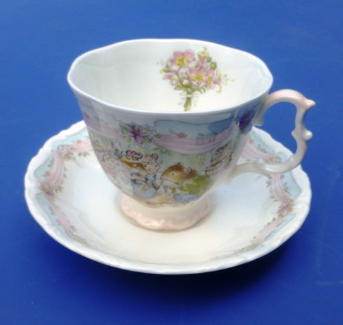 Royal Doulton Brambly Hedge Teacup and Saucer - The Wedding