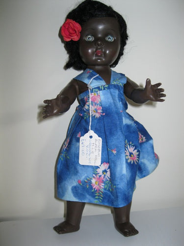 Rosebud Black Doll 12